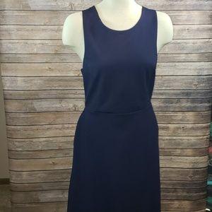 BANANA REPUBLIC Cross back ponte mini dress size 8
